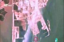 تصاویر هوایی از محل خرید نفت، مسیر انتقال و محل تخلیه برای نخستین بار در برنامه صدا و سیما نشان داده شد