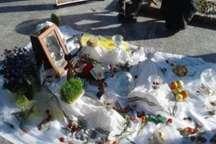 برگزاری مراسم تحویل سال نو در 300 گلزار شهدای استان یزد