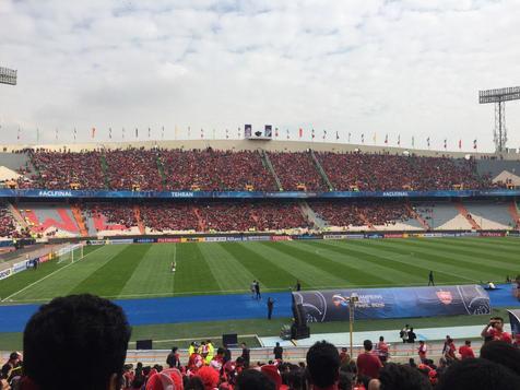 تمام حواشی فینال لیگ قهرمانان آسیا در ورزشگاه آزادی+ تصاویر