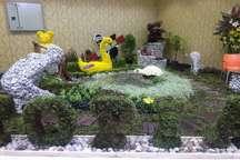 نمایشگاه گل و گیاهان زینتی در رامسر آغاز بکار کرد