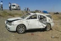 سه نفر در واژگونی خودرو در گناباد سه مصدوم شدند
