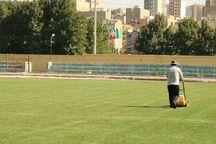 ورزشگاه تختی آماده میزبانی از حریفان تیم فوتبال ۹۰ ارومیه شد
