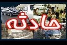یک کشته و چهار مصدوم در سانحه رانندگی محور قدیم تهران - ساوه