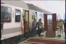 سوت قطار ارومیه به صدا درآمد