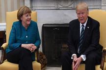 تبریک تلفنی ترامپ به مرکل به خاطر پیروزی در انتخابات آلمان