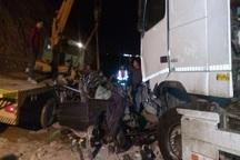 حادثه رانندگی شب گذشته  در مشگین شهر 2 کشته برجای گذاشت