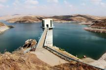 حجم آب سد کینه ورس زنجان 11 درصد کاهش یافت