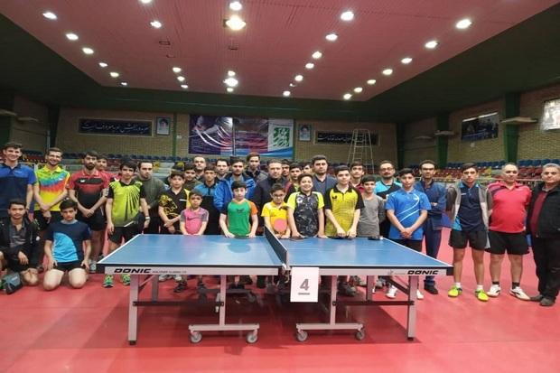 مسابقات تنیس روی میز جام فجر در قزوین پایان یافت