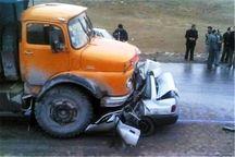 تصادف در جاده مهریز به تنگچنار جان یک نفر را گرفت