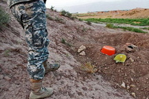 دستگیری حفار غیرمجاز در شهرستان شوش