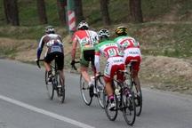 دوچرخه سوار بوکانی عنوان سوم مسابقات جام ارس را کسب کرد