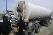 27 هزار و 500 لیتر سوخت قاچاق درتنگستان کشف شد