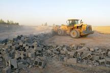 20 هزار متر مربع از اراضی کشاورزی پاکدشت آزاد سازی شد