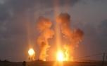حمله هواپیمای صهیونیستی به شرق غزه