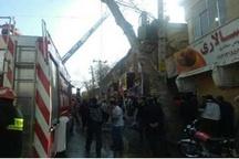 بازار سنتی زرگرهای کرمانشاه آتش گرفت