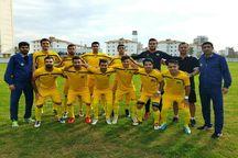 نفت و گاز گچساران در لیگ دسته دوم فوتبال کاسپین قزوین را برد