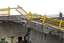 سیل 10 پل ارتباطی در شهرستان صحنه را تخریب کرد