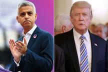 انتقاد شهردار لندن از رفتارهای کودکانه ترامپ