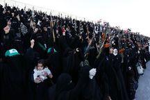 زنان یمنی درحمایت از انصارالله در صنعا رژه نظامی برپا کردند