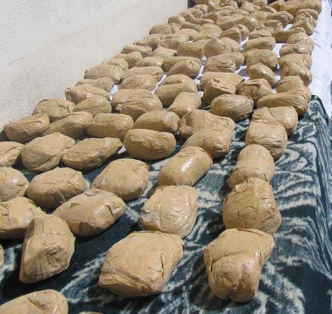 کشف محموله 653 کیلوگرمی مواد مخدر در سراوان