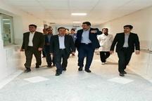 بازدیده سرزده استاندار از بیمارستان تامین اجتماعی خرم آباد