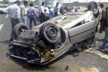 واژگونی خودرو در اردکان 2 کشته برجا گذاشت