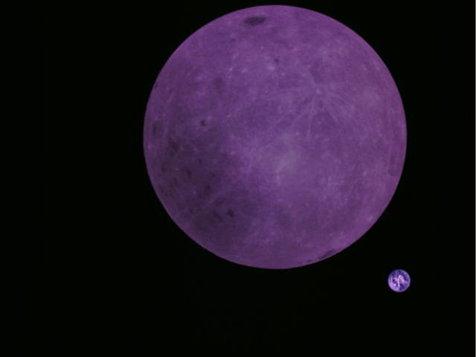 ماهواره چینی از ماه و زمین عکس گرفت