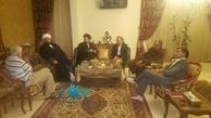 عکس/ عیادت سید حسن خمینی، مرتضی اشراقی، مسجد جامعی، رسولی و نجفی از عارف