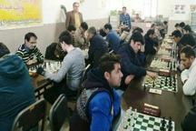 مسابقات شطرنج گرامیداشت دهه فجر خوی پایان یافت