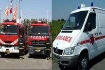 80 تکنسین اورژانس و آتش نشانی در ورزشگاه آزادی مستقر شدند