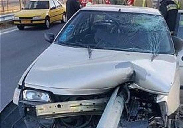 حادثه رانندگی در شهر کرمانشاه یک کشته بر جا گذاشت