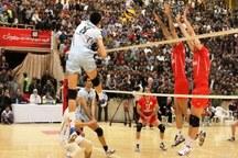 تیم والیبال سیستان و بلوچستان، صنایع اردکان را شکست داد
