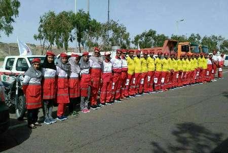 طرح تابستانه هلال احمر در سیستان و بلوچستان آغاز شد