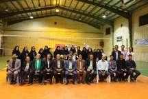 شیمی گل نداف، قهرمان مسابقات والیبال رمضانی بانوان مه ولات