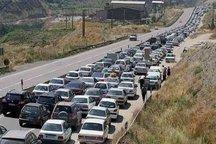 تردد خودروها در محورهای شمالی و کوهستانی استان تهران پرحجم است