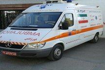 2 حادثه رانندگی در کویر مرنجاب پنج نفر زخمی به جا گذاشت