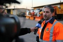 آمادگی شبانه روزی اکیپهای راهداری قزوین برای جلوگیری از بحران سیل