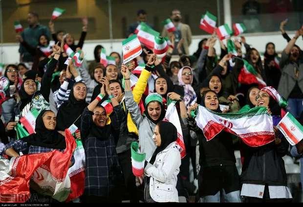 850 صندلی ورزشگاه آزادی سهم زنان از فینال لیگ قهرمانان