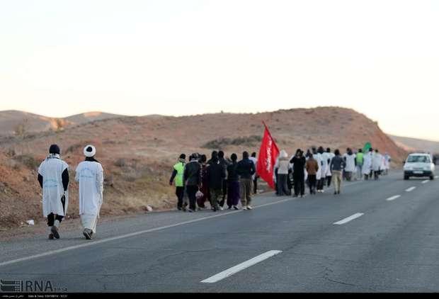 حدود 277 هزار زائر پیاده رضوی وارد مشهد شده اند
