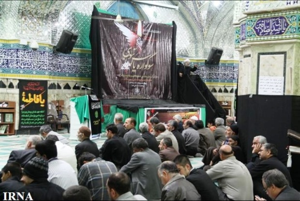 سوگواره یاس نبوی در 40 بقعه متبرکه سمنان برگزار می شود