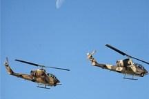 بالگردهای هوانیروز در رژه هفته دفاع مقدس شرکت میکنند
