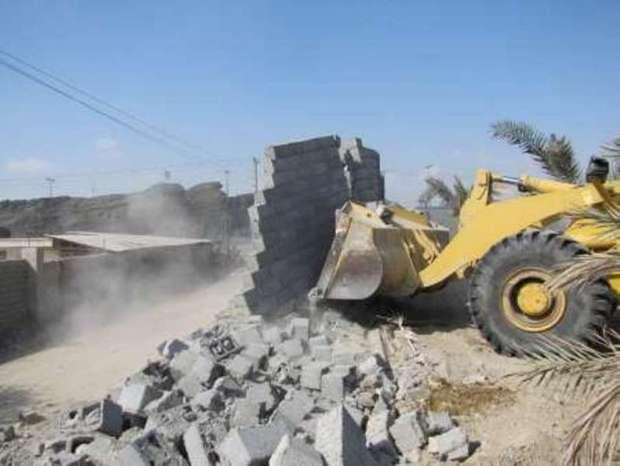 109 هکتار از اراضی ملی در بروجرد رفع تصرف شد