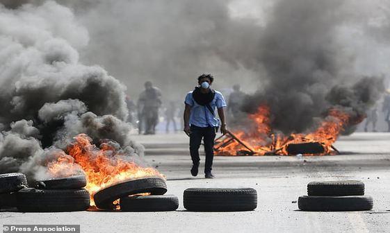اعتراضات مرگبار در نیکاراگوئه+ تصاویر