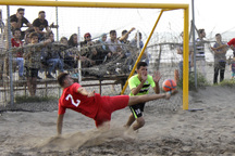 صعود تیم فوتبال ساحلی نوشهر به لیگ برتر قطعی شد