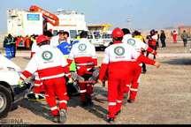 مانور زلزله در ارومیه برگزار شد
