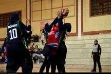 لیگ برتر بسکتبال زنان  دانشگاه گلستان مغلوب هیرو تهران شد