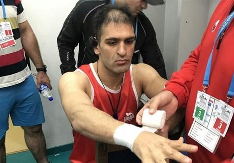 کاپیتان تیم ملی بوکس با شکست مقابل نماینده سوریه حذف شد