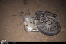 برخورد با خودرو راکبان موتورسیکلت را به کام مرگ کشید