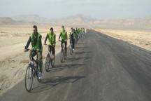 زائران دوچرخه سوار رضوی عازم مشهد شدند