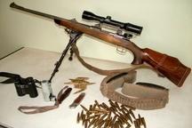 دستگیری ۵۰ شکارچی متخلف در کاشان